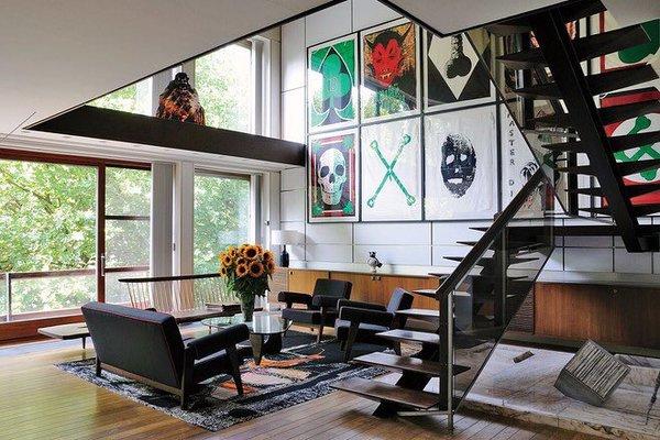 Raf Simons' Apartment, Antwerp