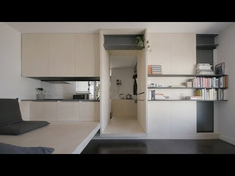 NEVER TOO SMALL ep.7 Micro Apartment Design George