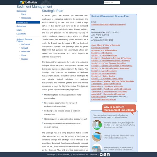 Sediment Management