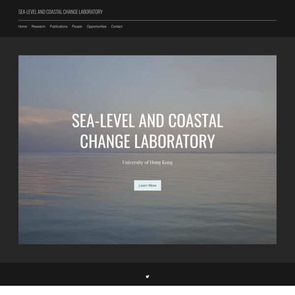Sea-level and coastal change laboratory
