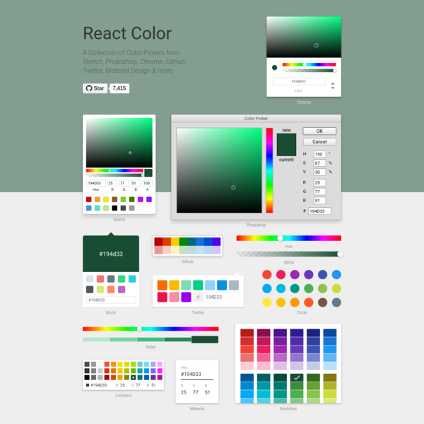 React Color