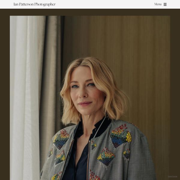 Cate Blanchett- The Wall Street Journal - Ian Patterson Photographer