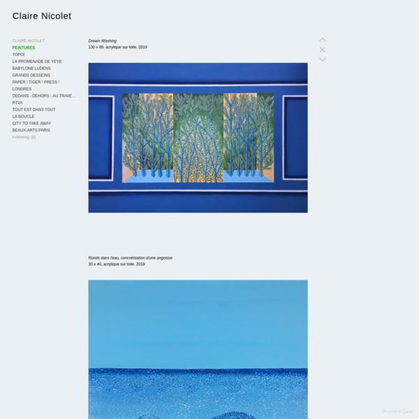 PEINTURES - Claire Nicolet