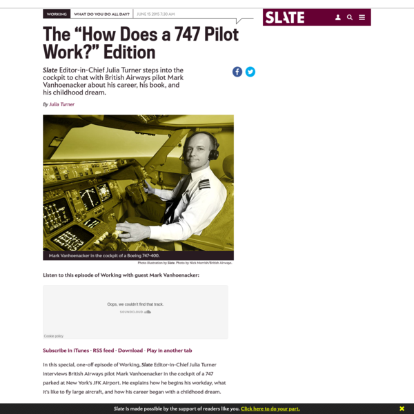 How does a 747 pilot work?