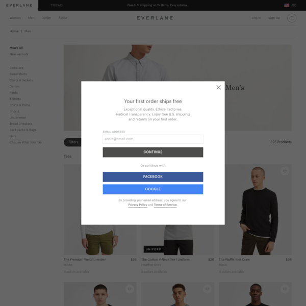 Men's Apparel - Tees, Shirts, Pants, Shoes & More