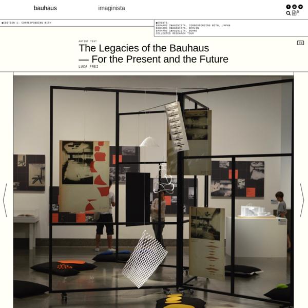 The Legacies of the Bauhaus - Articles - bauhaus imaginista
