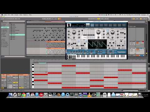 How To Make Progressive House - Plucks with Sylenth, Operator, and Strobe.