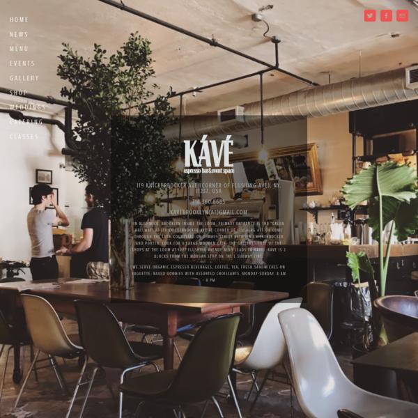 KÁVÉ Espresso Bar and Event Space