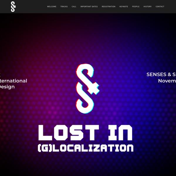 Senses & Sensibility 2019 - Lost in (G)localization