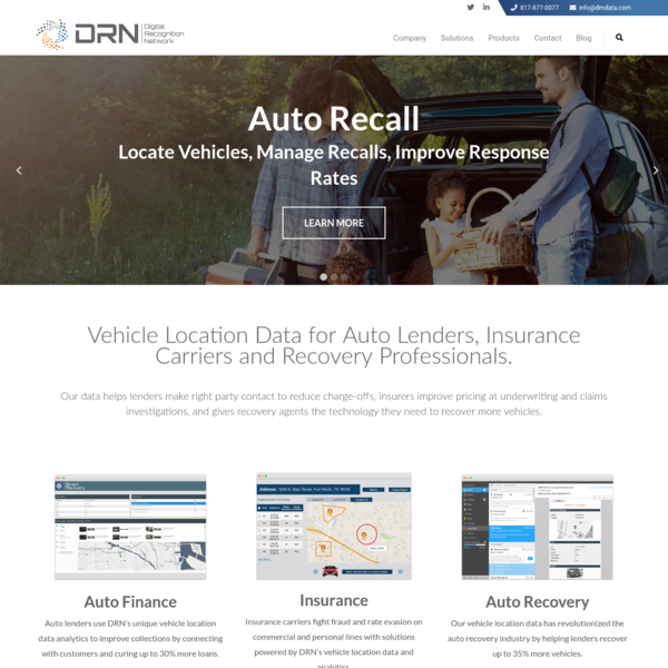 DRN Data | License Plate Recognition Technology