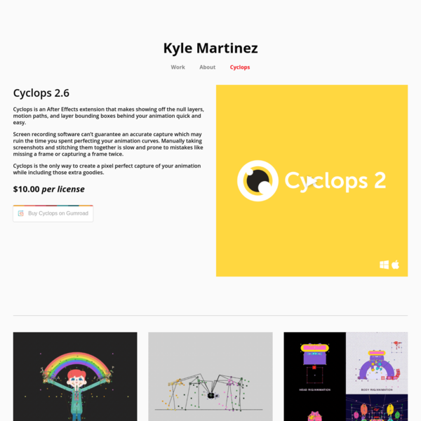 Cyclops - Kyle Martinez