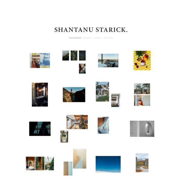 Shantanu Starick.