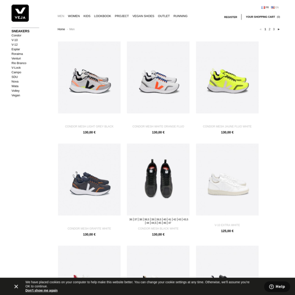 Veja men's sneakers, bags and accessories - VEJA STORE