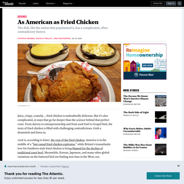As American as Fried Chicken