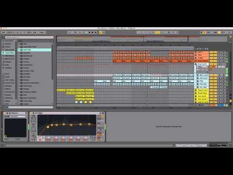 Ableton Live Template - The Buzz by Alex Menco (Bigroom House, Electro House, EDM) \ Midi Production