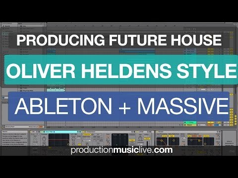 Producing Oliver Heldens Future House Bass in Ableton Live with Massive