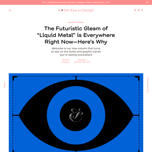 """The Futuristic Gleam of """"Liquid Metal"""" is Everywhere Right Now—Here's Why 