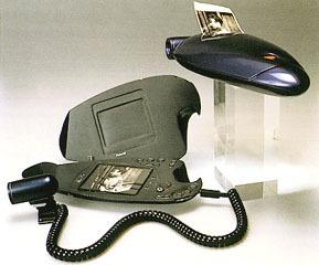 Frederich Lebrun – Digital autofocus Polaroid (1992)