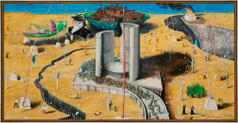 Harvest of Our Mere Humanism Years - Kurelek