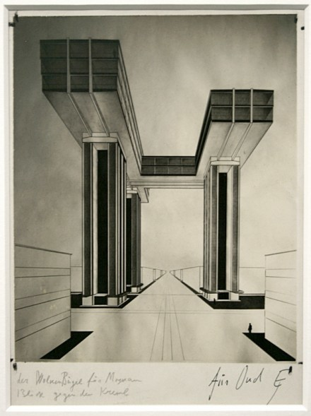 El Lissitzky, Der Wolkenbügel (The Cloud Iron), 1925 (not realized)