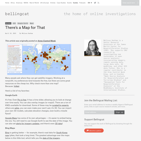 There's a Map for That - bellingcat