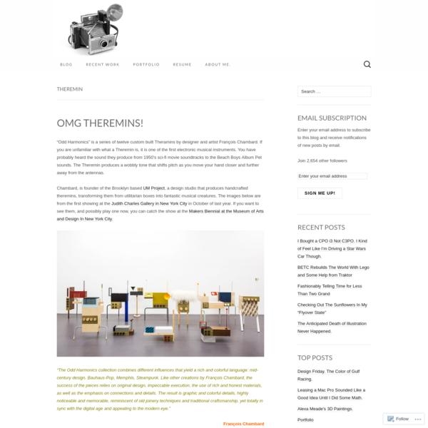 Theremin - Modular 4