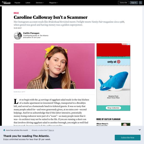 Caroline Calloway Isn't a Scammer