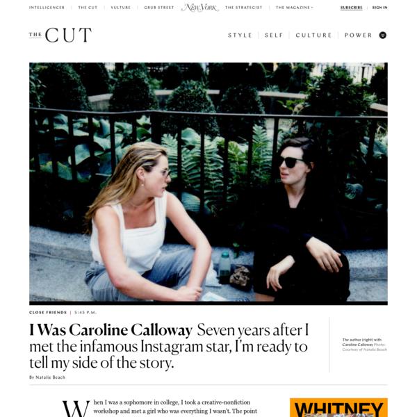 The Story of Caroline Calloway & Her Ghostwriter Natalie