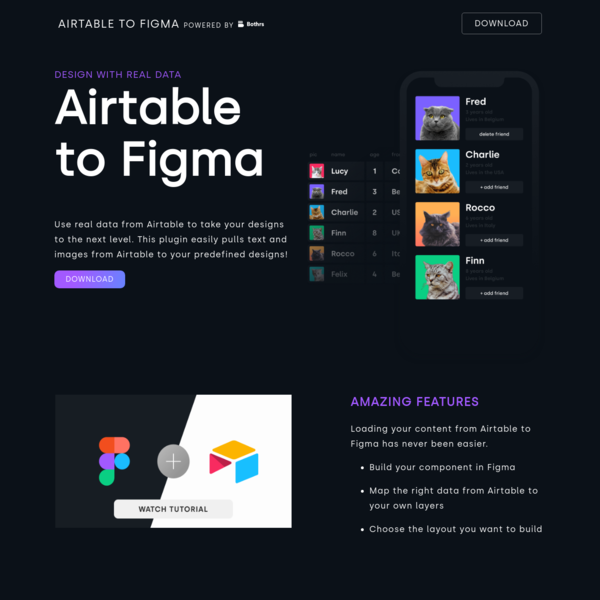 Airtable to Figma