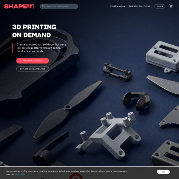 3D Printing Service | Shapeways