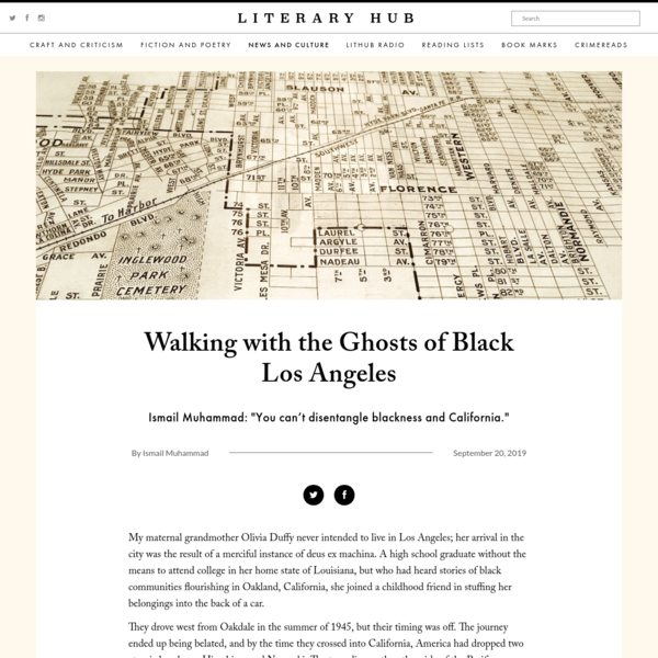 Walking with the Ghosts of Black Los Angeles | Literary Hub