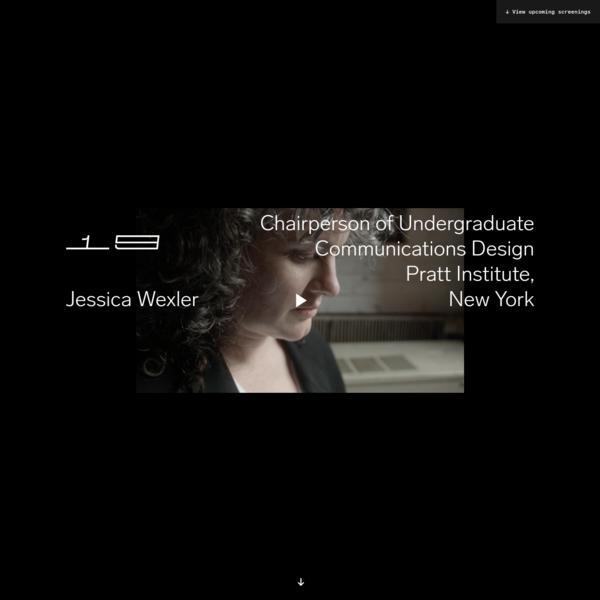 Frontiers of Design - Jessica Wexler