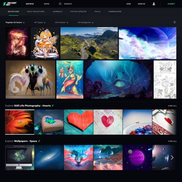 DeviantArt - Discover The Largest Online Art Gallery and Community