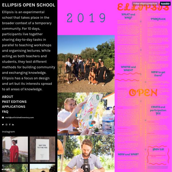 Ellipsis Open School