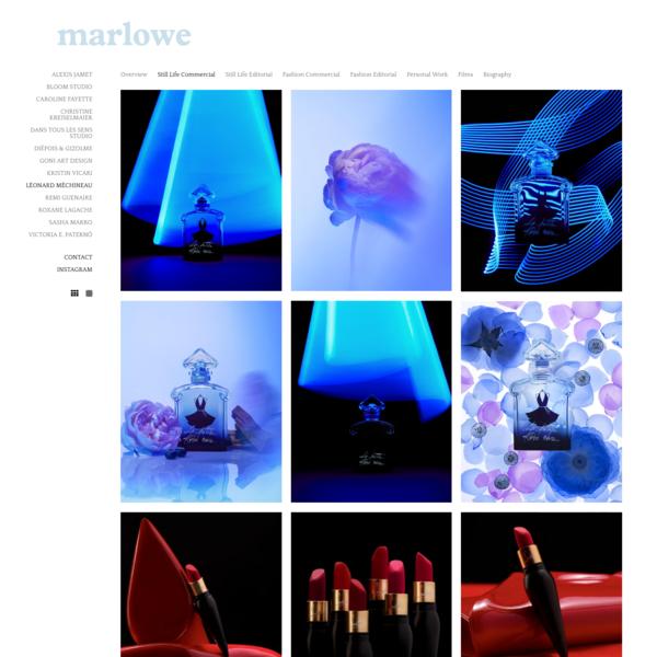 Marlowe - creative solutions for luxury brands - LÉONARD MÉCHINEAU
