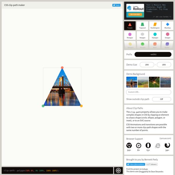 Clippy - CSS clip-path maker