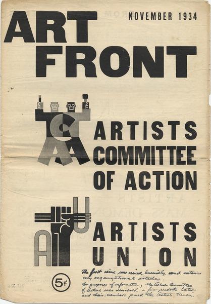 Art Front November 1934