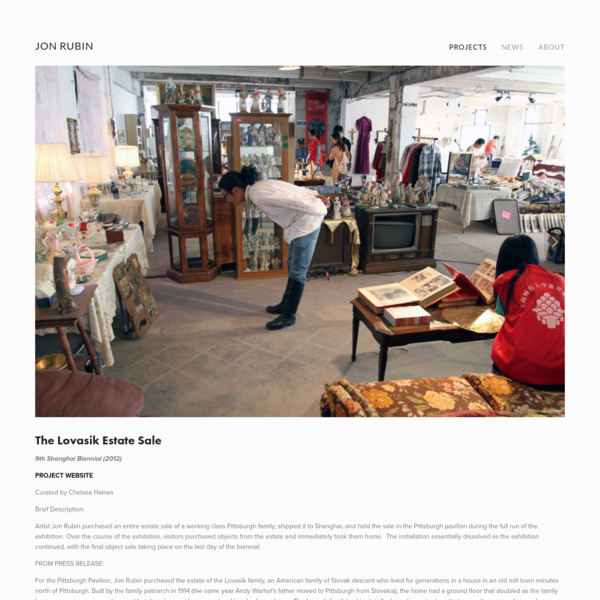 The Lovasik Estate Sale by JON RUBIN