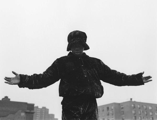 Katsu Naito. Once in Harlem, 1990