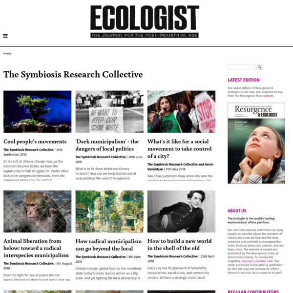 The Symbiosis Research Collective