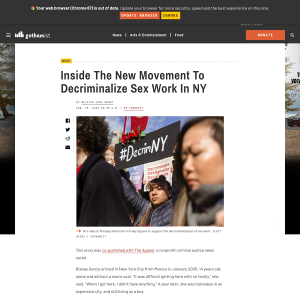 Inside The New Movement To Decriminalize Sex Work In NY