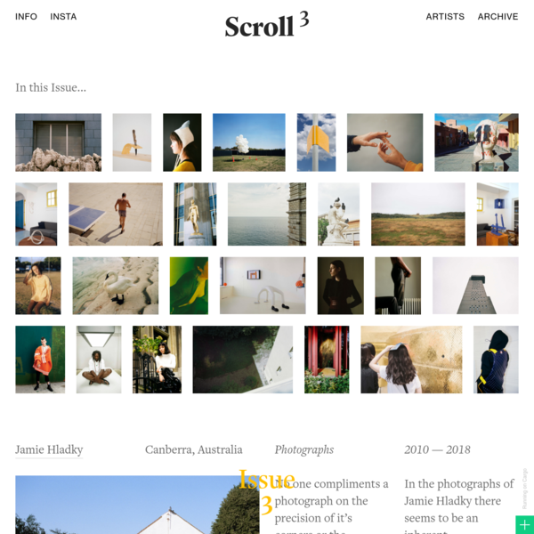 Scroll Journal - Cargo Example Site