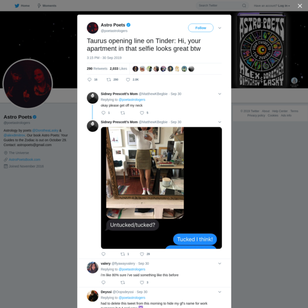 Astro Poets on Twitter