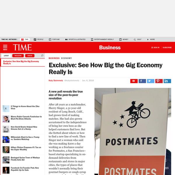Exclusive: See How Big the Gig Economy Really Is