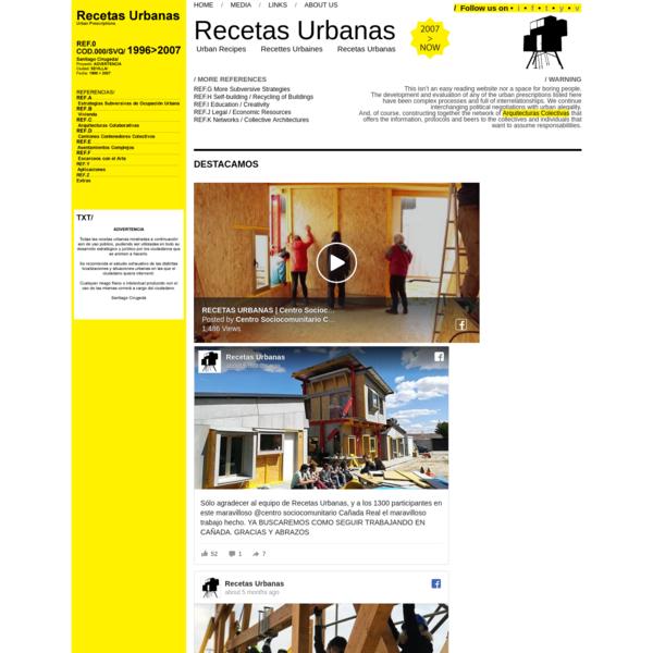 Urban Recipies :: Recetas Urbanas :: Santiago Cirugeda :: Architect