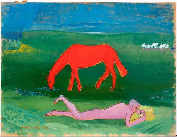 Otto Mäkilä (Finnish, 1904-1955), Poetry, 1938