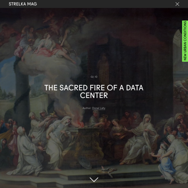 The Sacred Fire of a Data Center