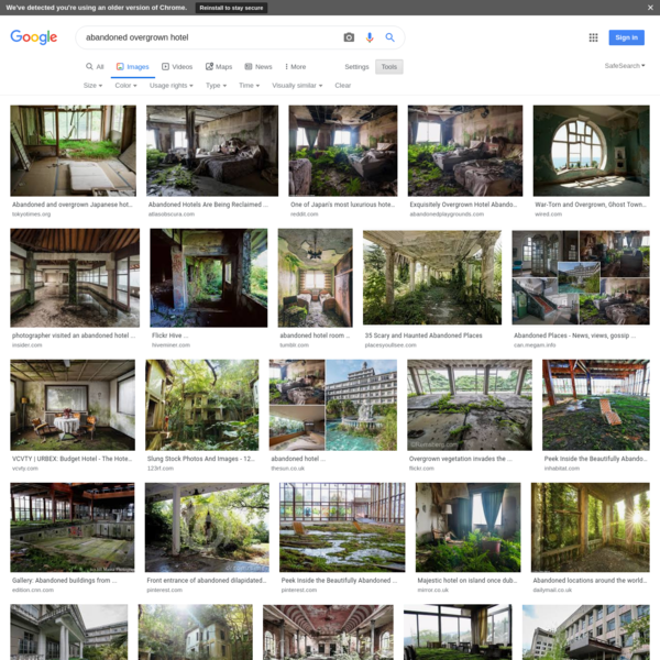 abandoned overgrown hotel - Google Search
