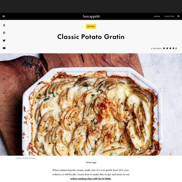 Classic Potato Gratin Recipe