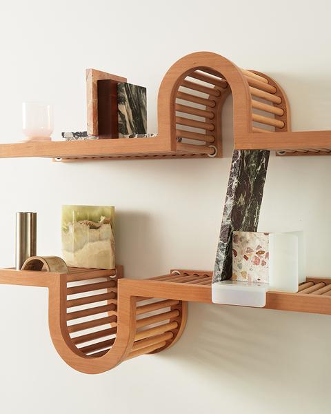 Wave Shelf by Home Studios